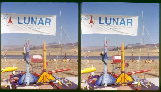 Lunar Clips Shooting Rockets In 3d With An Old Kodak Stereo Camera