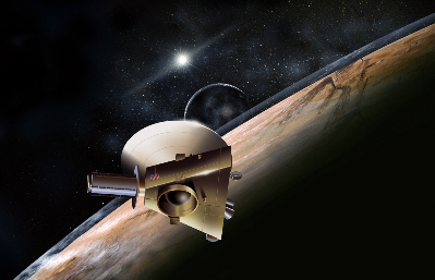 ... , yet so different. So utterly alien. Stay tuned for New Horizons