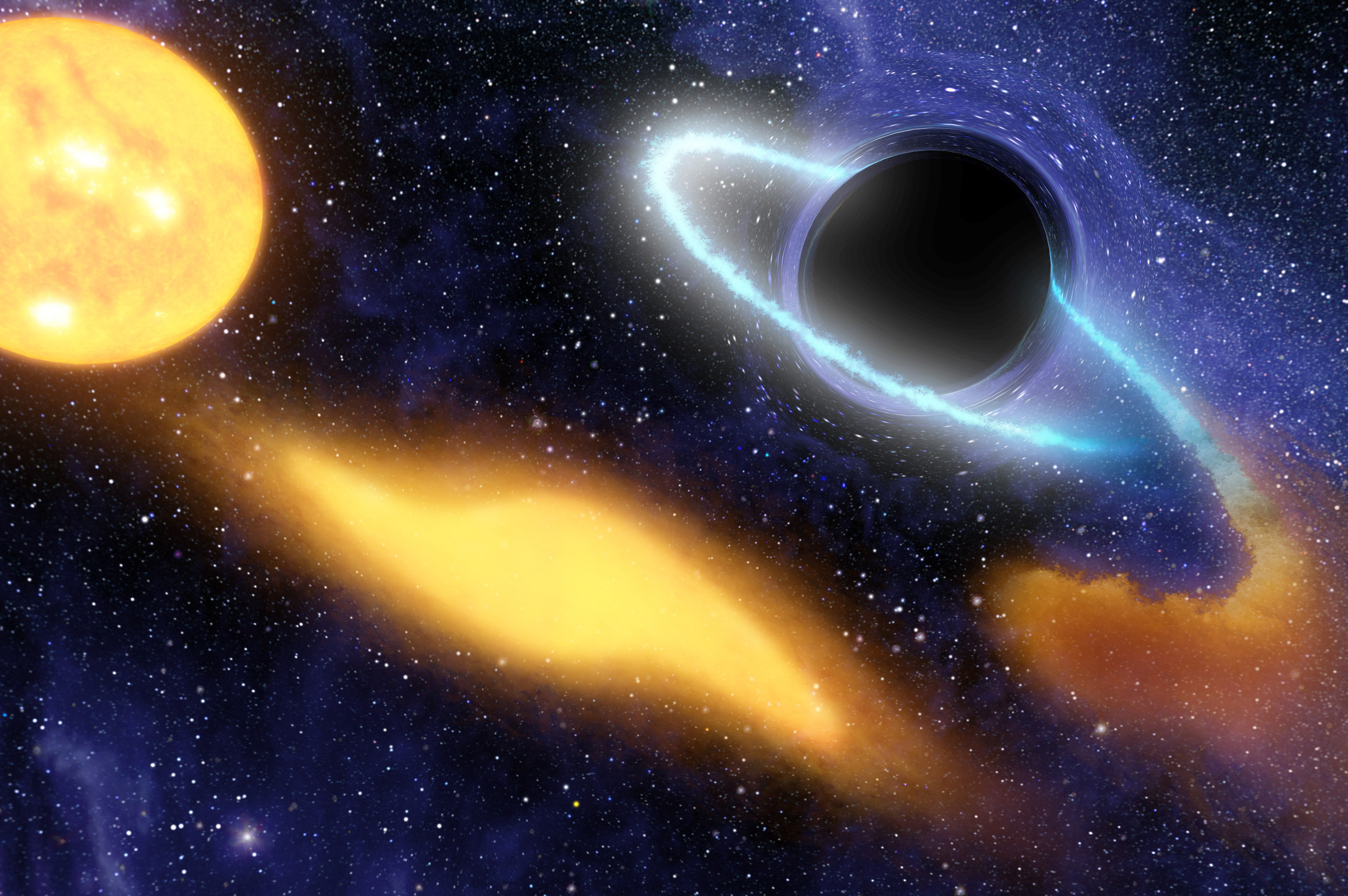 the gravity of planets black holes - photo #41