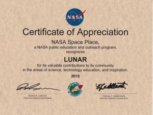 LUNAR-NASA-JPL-Cert